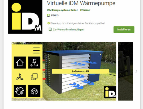 Virtual iDM heat pump is here